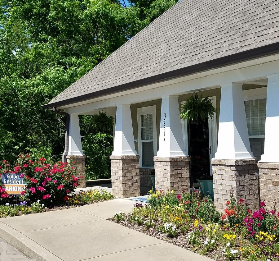 Property Managment office located at Lincoya Bay Townhomes in Nashville, TN.