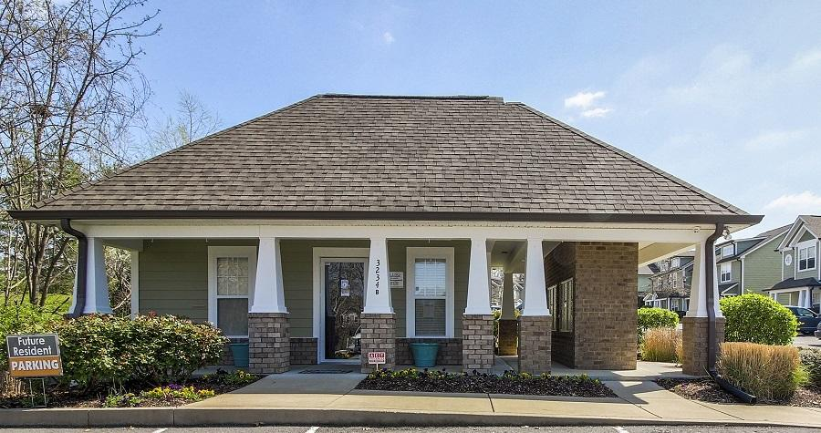 Rental office at Lincoya Bay Townhomes in Nashville, TN.